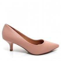 Imagem - Sapato Scarpin Feminino Vizzano Bico fino 1122600 Salto Baixo - 003365