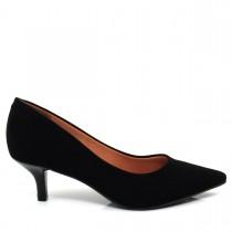 Imagem - Sapato Scarpin Feminino Vizzano Bico fino 1122600 Salto Baixo - 003002