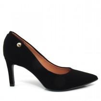 Imagem - Sapato Scarpin Feminino Vizzano Bico fino  1232100 Nobuck glamour - 003169