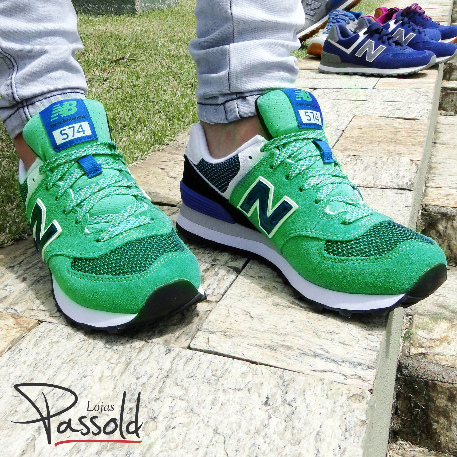 tênis new balance verde