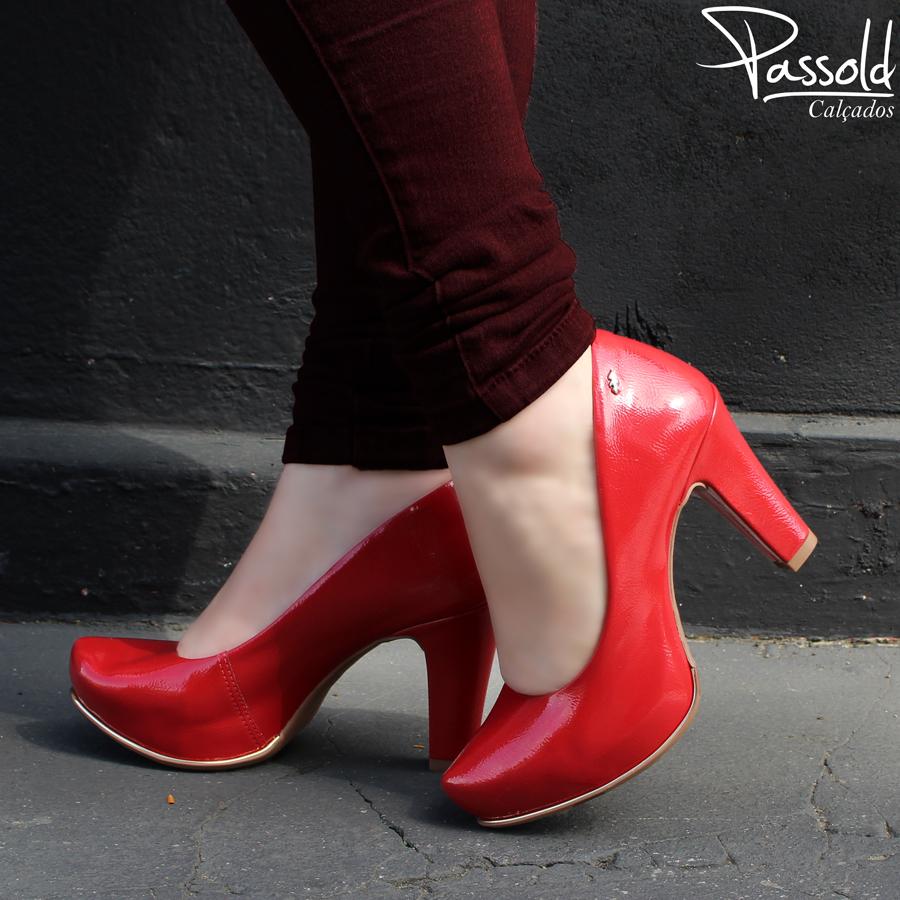 845fffd63 Sapato Meia Pata Feminino Dakota Verniz
