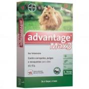 Advantage Max 3 P Cães até 4kg - 0,4ml