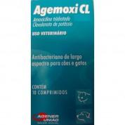 Agemoxi CL 250mg com 10 Comprimidos