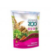 Alimento completo para coelhos ornamentais Mega Zoo 500g