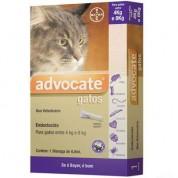 Anti Pulgas Advocate Bayer para Gatos de 4kg a 8kg