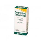 Antimicrobiano para Cães e Gatos Duotrill 50mg Duprat - 10 comprimidos