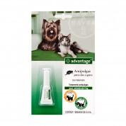 Antipulgas Advantage Cães e Gatos até 4kg - 0,4ml