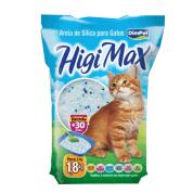 Areia Sanitária Sílica para Gatos Higi Max 1,8kg