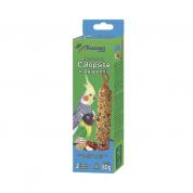 Bastão de Sementes para Calopsita e Agapornis 2un 80g