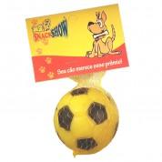 Brinquedo Bola de Futebol em Vinil Cores Sortidas 7cm