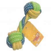 Brinquedo Corda Halteres Mordedor para Cães Tamanho M