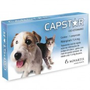 Capstar 11,4 mg (Cães e Gatos até 11,4 kg) 1 Comprimido