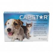 Capstar 11,4 mg (Cães e Gatos até 11,4 kg) 6 Comprimidos