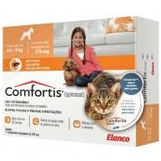 Imagem - Comfortis Antipulgas Cães de 4,5 a 9 Kg e Gatos de 2,8 a 5,4 Kg 270mg 337438