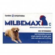 Imagem - Milbemax Para Cães de 5 a 25kg 2 Comprimidos