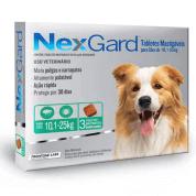 NexGard Antipulgas e Carrapatos G Cães 10 a 25kg 3 comprimidos