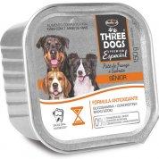 Patê Hercosul Three Dogs Frango e Salmão para Cães Sênior