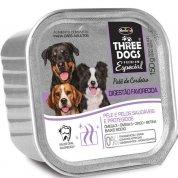Patê Three Dogs Digestão Favorecida Cordeiro para Cães Adultos 150g