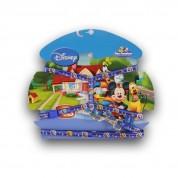 Peitoral Coleira Com Guia Azul Disney