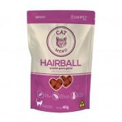 Petisco Luopet Cat Menu Hairball Anti Bolas de Pelo 40g
