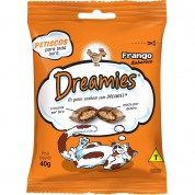 Petisco Snacks Dreamies Para Gatos Sabor Frango 40g