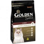 Ração Golden Gatos Castrados Carne 3kg