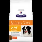 Ração Hills Prescription Diet Urinary Care c/d Multicare Cães 3,85kg