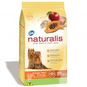 Imagem - Ração Naturalis Cães Adultos Raças Pequenas Frango, Peru e Frutas 15kg 567487