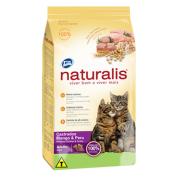Ração Naturalis Gatos Castrados Frango e Peru 3kg
