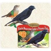 Ração Oleosa para Sabiá e Pássaro Preto com Laranja 500g Nutripassaros