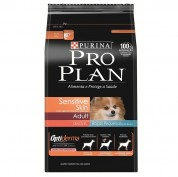 Ração Pro plan Sensitive Skin para Cães de Raças Pequenas 3kg