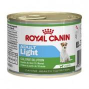 Ração Úmida Royal Canin Light Cães Adultos Lata 195g