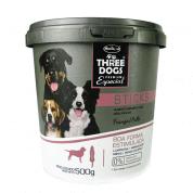 Sticks para Cães Three Dogs Boa Forma Estimulada Frango 500g