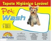 Tapete Higiênico Lavável M 80X60 Pet Wash