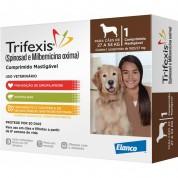 Trifexis Anti Pulgas e Vermífugo Cães de 27kg a 54kg Comprimido Mastigável
