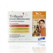 Trifexis Anti Pulgas e Vermífugo Cães de 4,5kg a 9kg Comprimido Mastigável
