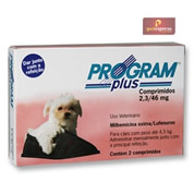 Program Plus Cães até 4,5kg com 2 Comprimidos