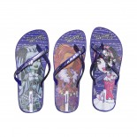 Chinelo Monster High Par de 3 Ref.25685