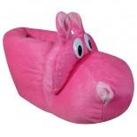 Pantufa Pe Quentinho Hipopotamo