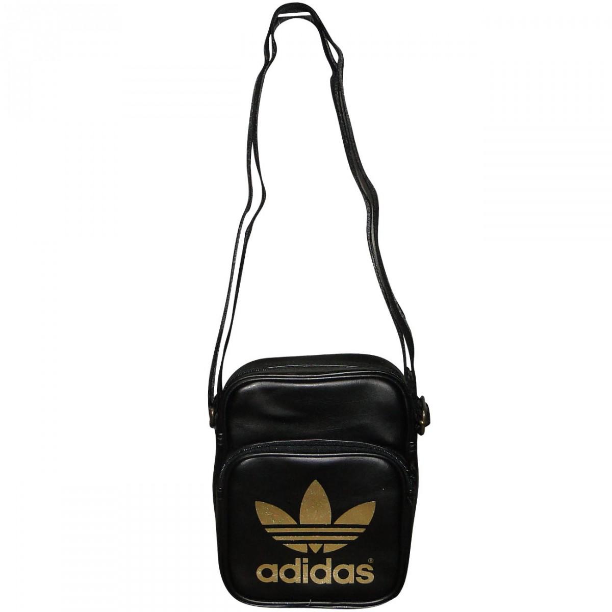 Bolsa De Ombro Masculina Nike : Bolsa adidas mini bag g preto dourado chuteira