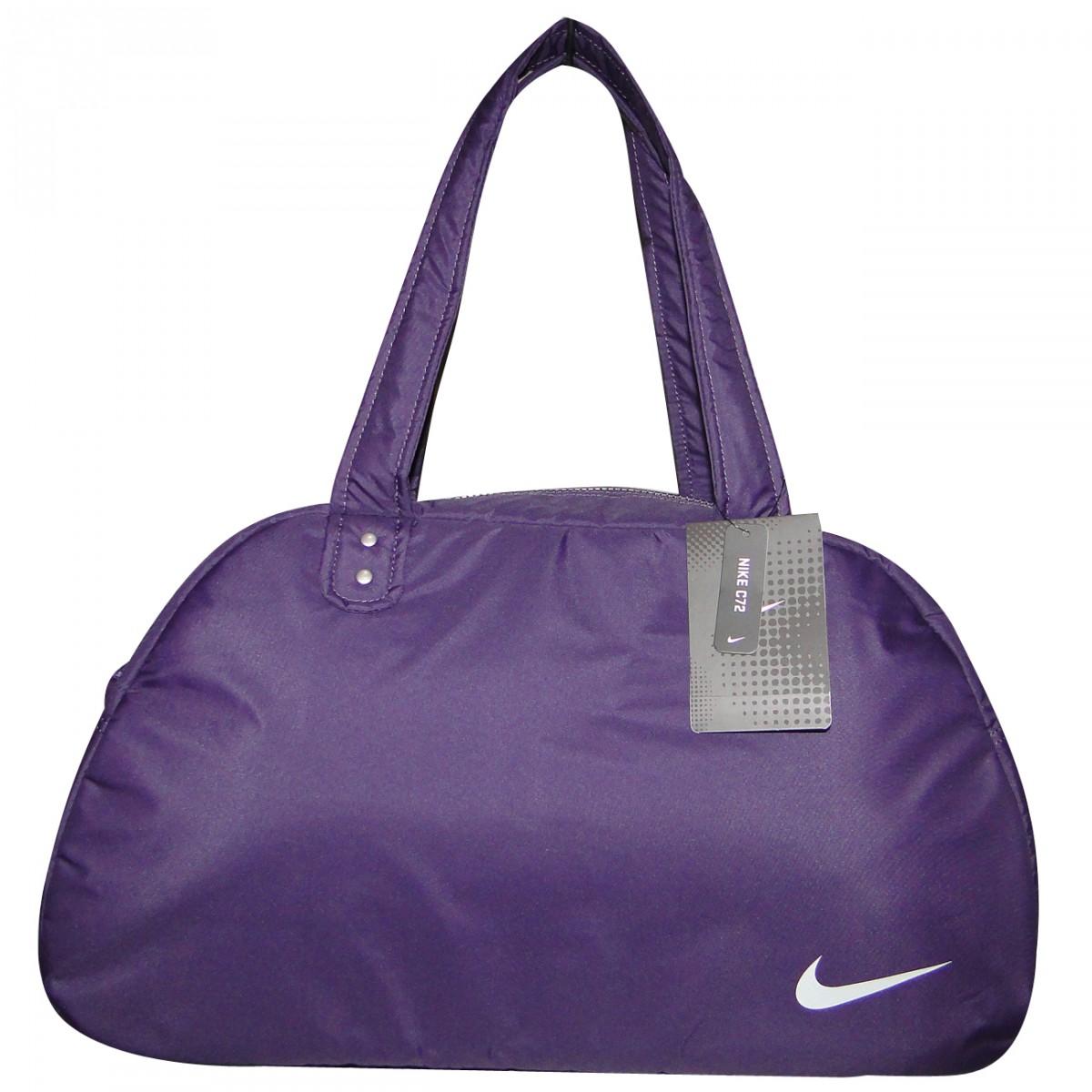 Bolsa De Viagem Da Nike Feminina : Bolsa nike ref ba  roxo prata chuteira