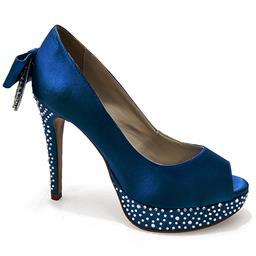 Peep Toe Belmon - 13159 - Azul - 33 ao 43
