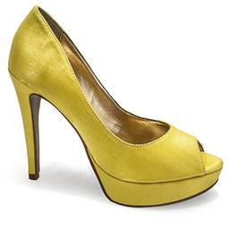 Peep Toe Belmon - 13116 - Amarelo - 33 ao 43