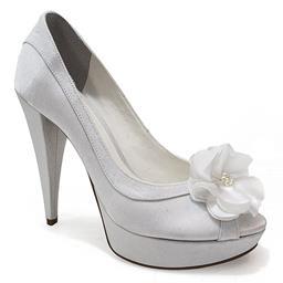 Peep Toe para Noivas Belmon - 13191 - Branco - 33 ao 43
