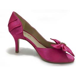 Peep Toe Belmon em Cetim Pink - 6043 - 33 ao 43