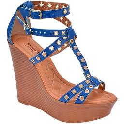 Anabela Feminina Skippy - 2557 Azul