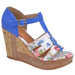 Anabela Floral Skippy - 1036
