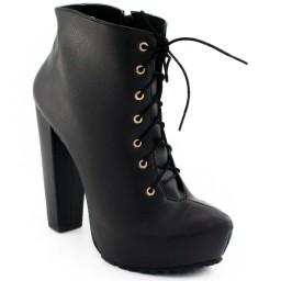 Ankle Boot Tratorada Sapato Show 11202e