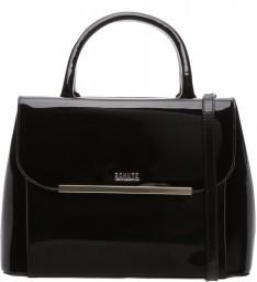 Bolsa Mini Tote Sharon Verniz Black Schutz S500150143