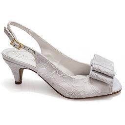 Peep Toe Belmon Modelo Chanel em Renda - 6085 - 33 ao 43